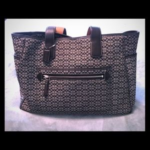 Signature Coach Diaper/Career Bag